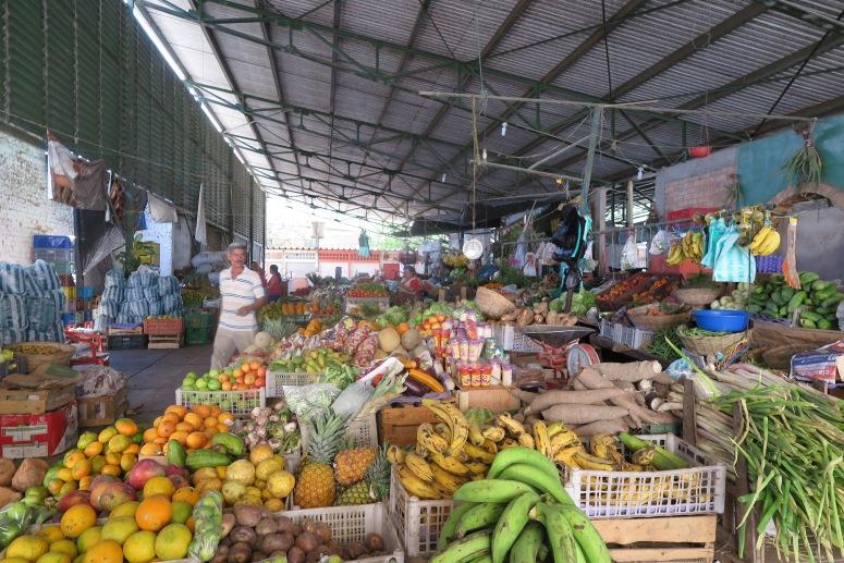 mercado en Apulo