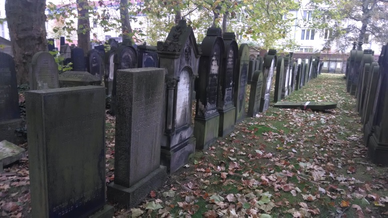 Jewish cemetery in Hannover that somehow survived WWII bombings.