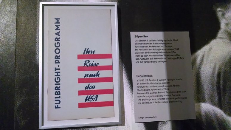 History of the Fulbright program at the Haus der Geschichte