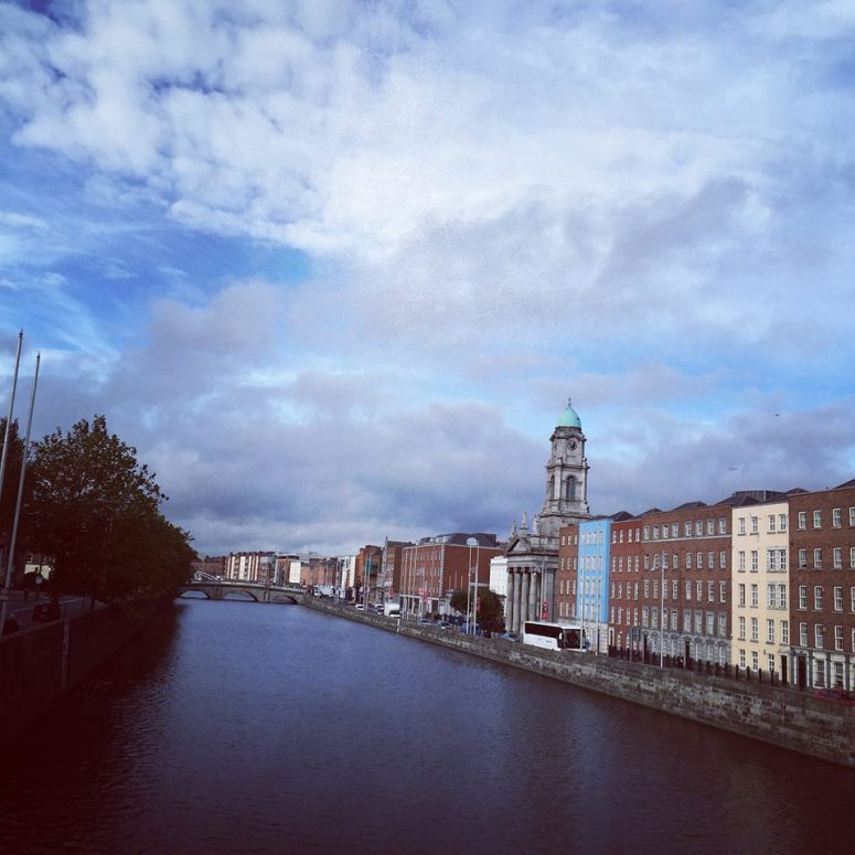 The River Liffey, better know which side you're on