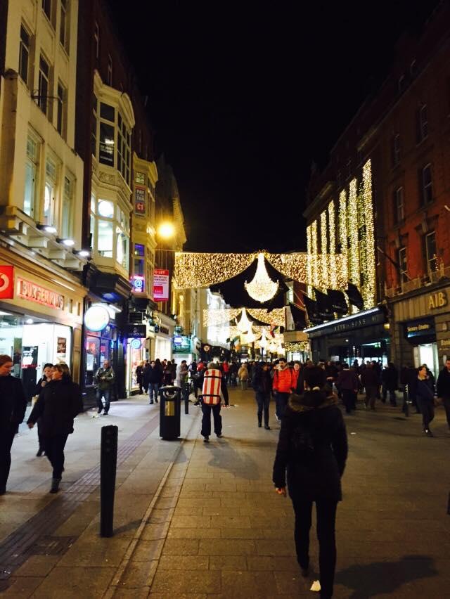 Christmas Lights on Grafton Street