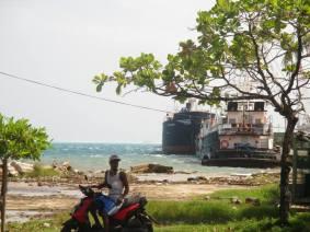 bike, boat, fishing, island, Caribbean, Colombia