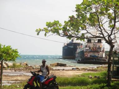bike, boat, fishing, island, Caribbean, Colombia
