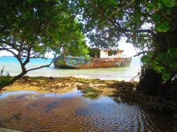 boat, fishing, caribbean, Colombia, island